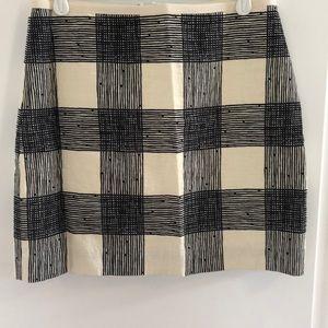 Madewell Checked Miniskirt